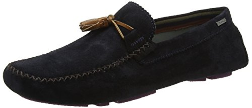Ted Baker Mens Dark Blue Urbonn Suede Shoes qmYMw