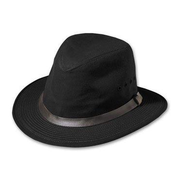 Filson Oil Finish (Filson Unisex Tin Packer Hat Black MD)