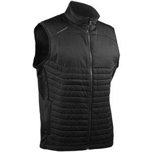 Sun Mountain 2018 Men's Hybrid Golf Vest (Black, Large)