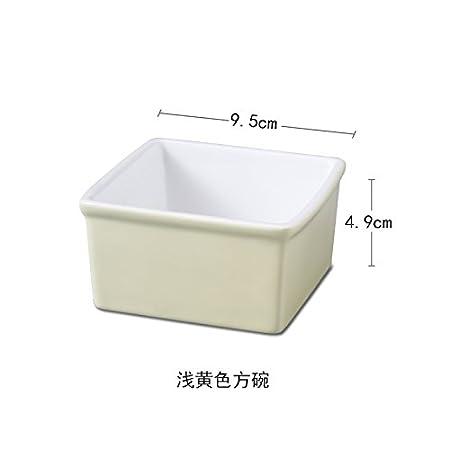 XY & GK Creative Home Estilo Europeo simple bol de cerámica ...