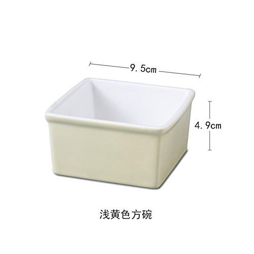 XY & GK Creative Home Estilo Europeo simple bol de cerámica cuenco ...