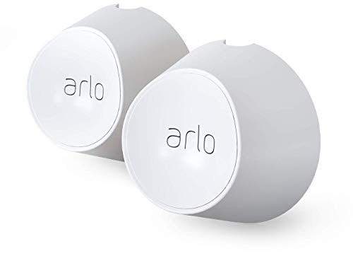 Arlo Accessory - Magnetic Wall Mounts | Set of 2, Indoor/Outdoor, White | Compatible with Arlo Ultra Only | (VMA5000)