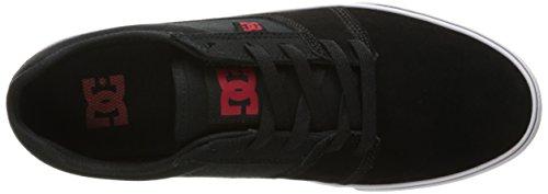 DC Männer Tonik Skate Schuh Schwarz / Rot / Weiß
