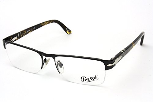 Persol PO2374V Eyeglasses 948 Shiny Black w/ Demo Lens 52mm
