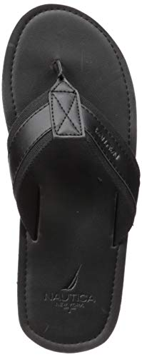 Nautica Men's Clifford Sandal, Black, 11 Medium US