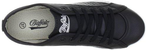 Buffalo 507-V9987 TUMBLE PU 135859 - Zapatillas de deporte para mujer Negro