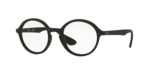 Ray Ban Optical Frame RX7075 5364 47mm Matte Black Round - Optical Frames Rx