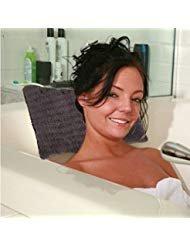 Contour Spa Pillow (Bathtub Pillow, Sunfresh Non-Slip Bath Pillow for Tub, Bathtub, Hot Tub, Jacuzzi, Home Spa Pillow Support for Head, Neck)