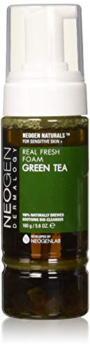 NEOGEN Dermalogy Real Fresh cleansing Foam,160g /5.6 oz (Green Tea)