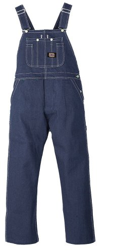 BIG SMITH Walls Mens Work Rigid Denim Bib Overalls Non Insulated 34X32