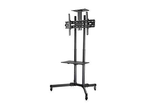 Monoprice Select Series Multifunctional TV Cart/Trolley with Camera Shelf - (116096)