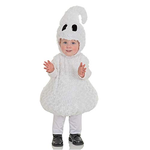 Underwraps Toddler's Halloween Ghost Belly Babies Costume, White, Extra Large (4-6)]()