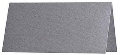 gerippt //// 100 x 90 mm hochwertig 100 St/ück //// Artoz Serie 1001 premium Tischkarten graphit