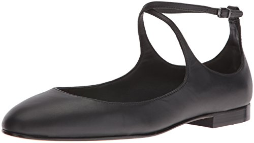 donna Nappa Leather Donne EU Matte Black beige Leather Via Nude Ballerine 39 Spiga 0wfxYE