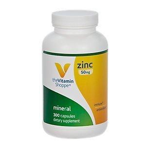 the Vitamin Shoppe Zinc 300 Capsules by Vitamin Shoppe