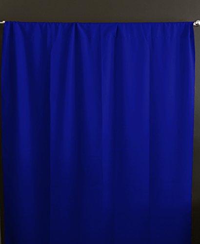 lovemyfabric 100% Polyester Poplin Window Curtain Panel/Stage Backdrop/Photography