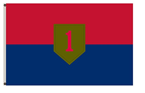 Fyon Uniformed Services Army Banner The 1st Infantry Division Flag 6x10ft