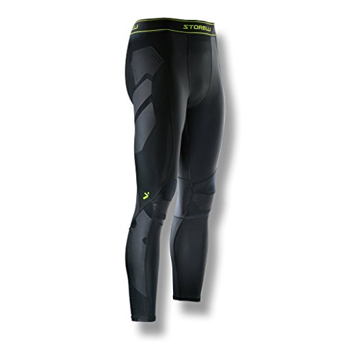 BodyShield Turf Burn Leggings | Proctective Pants Field |UV Resistant|Sweat-Wicking ()