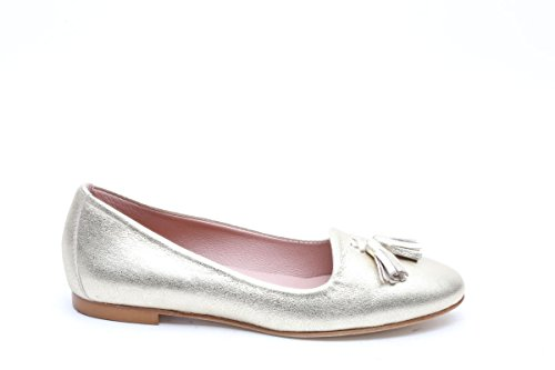 Scarpe italiane ballerine oro