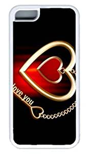 Diy iPhone 6 plus I Love You Key DIY Rubber WhiteIphone 6 plus On Custom Service