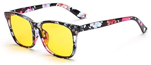 protección Leopardo de Ordenador UV Ojo Azules para Gafas Juego Merriz Gafas Rayos Anti Trabajo de y Anti de Gafas Flower antideslumbrante el para y qBFxOw