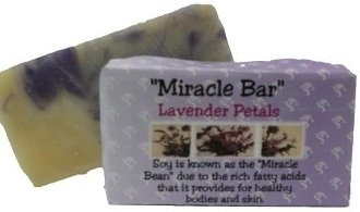 All Natural, Handmade, Lavender Petals Soap by Amish Country Essentials. 3.5oz