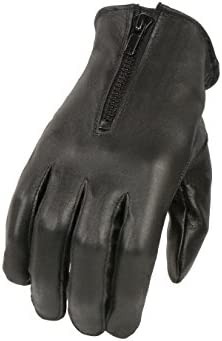 SH728 Milwaukee Leather Women/'s Thermal Lined Leather Gloves W// Zipper Closure