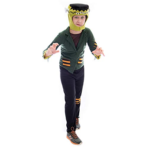 Boo! Inc. Flat-top Frankenstein | Kids Monster Halloween Costume (7-9) -