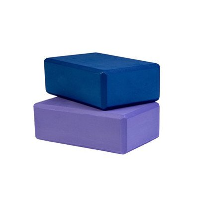 "Foam Block [Set of 2] Size: 3"" x 6"" x 9"", Color: Pink"