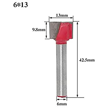 Milling Cutter - 6mm Shank Cleaning Bottom Engraving Knife