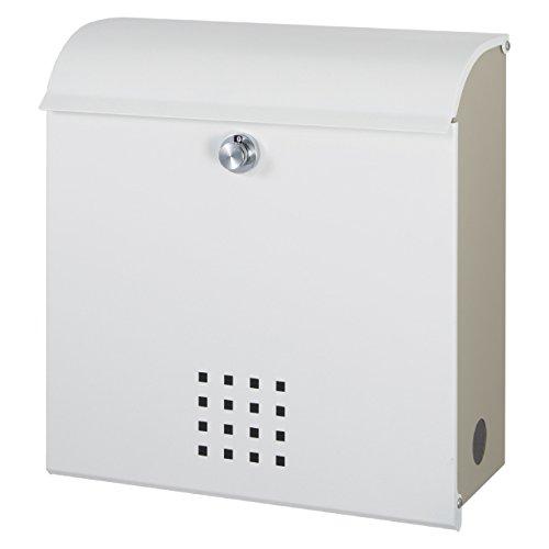 丸三タカギ メール便最大サイズ対応可能 大容量郵便ポスト(郵便受け) クレポス ホワイト(CR-1) B01LYKEMR4 19989 ホワイト ホワイト
