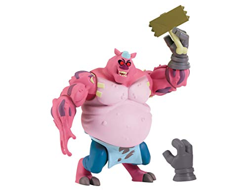 Teenage Mutant Ninja Turtles The Rise of The Basic Action Figures - Meat Sweats 'The Tenderizer']()