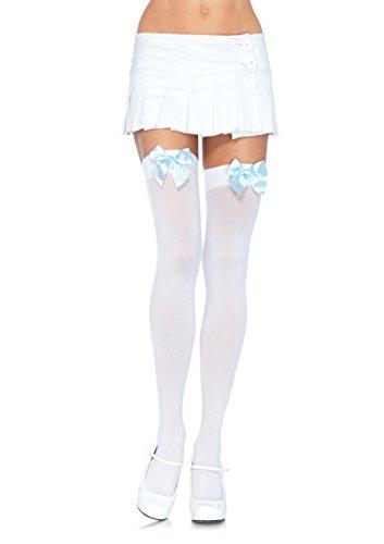 (Leg Avenue Womens Satin Bow Accent Thigh)