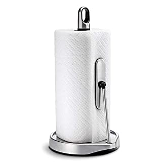 simplehuman Tension Arm Paper Towel Holder, Stainless Steel (B00814IE4G)   Amazon Products