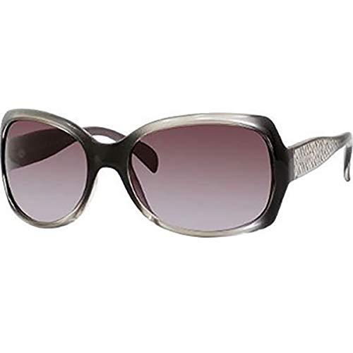 GIORGIO ARMANI 846/S Women's Butterfly Full Rim Sports Sunglasses - Sage Gray/Brown Gradient Azure/Size 60/18-120