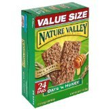 (Nature Valley Crunchy Granola Bars, Oats 'n Honey, 24-Count Boxes (Pack of 2))