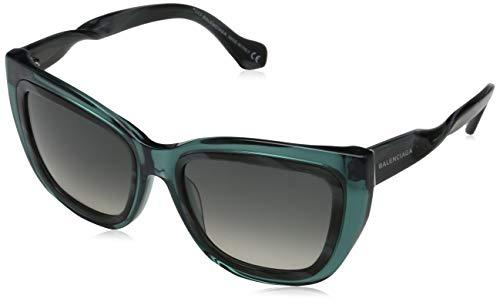 Sunglasses Balenciaga BA 27 BA0027 89B turquoise/other / gradient smoke