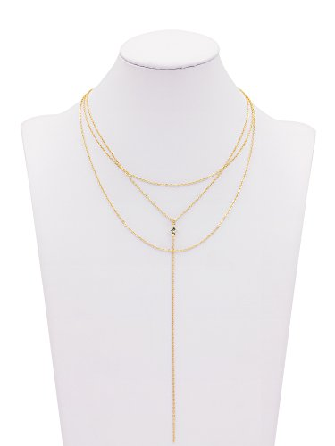 Boosic Multilayer Necklace Choker Compressed Turquoise