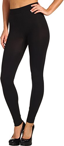 Wolford Women's Velvet 100 Leg Support Footless Tights, Black, Medium
