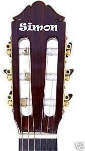 Online Design Tu Nombre Pegatina para Tu Guitarra Carpeta Personalizar - Azul