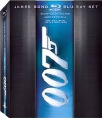James Bond Blu-ray Set (Quantum of Solace, Licence to Kill, The Man with the Golden Gun) (James Bond Movie Collection)