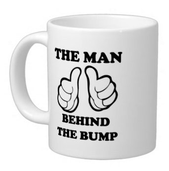 Funny Mug - The Man Behind