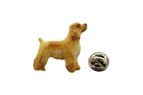 Cocker Spaniel Pup Pin ~ Hand Painted ~ Lapel Pin ~ Sarah's Treats & Treasures