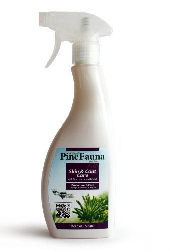 PineFauna Skin and Coat Care Spray for Dogs, 500-Ml, My Pet Supplies