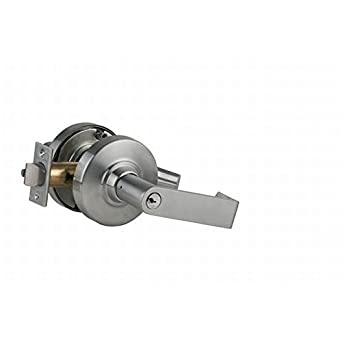 schlage commercial locks. Unique Schlage Schlage Commercial ND80PDRHO626 ND Series Grade 1 Cylindrical Lock  Storeroom Function Rhodes Lever Design To Commercial Locks D