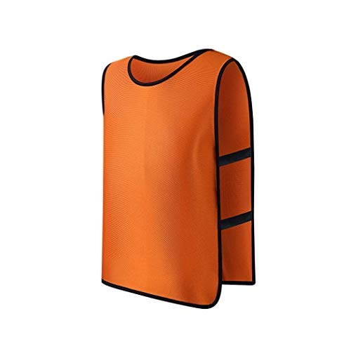 (Xixou Training Vests, Soccer Pinnies, Perfect as Kids Basketball Jerseys, Youth Football Practice Jerseys or Pennies for Soccer Kids, Youth and Adults)