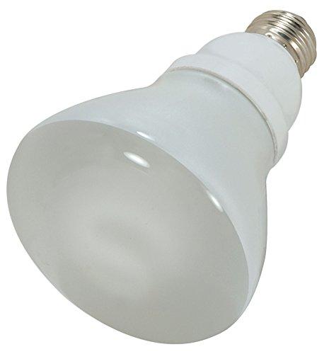 (Satco 15R30/50 Compact Fluorescent Reflector, 15W E26 R30, Bulb [Pack of)