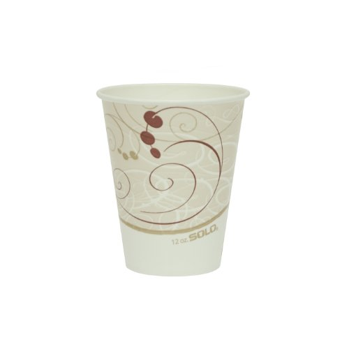 - Solo RP12SP-J8000 12 oz Symphony DSP Paper Cold Cup (Case of 2000)