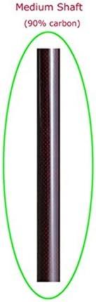 ZJ Carbon Fiber Kayak Paddle Wing Blade Oval Shaft 3 Stiffness 10cm Length Extend