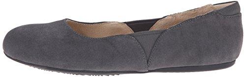 Talla De Mujeres Piso Zapato Softwalk Graphite n7Pq8xBF